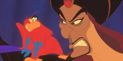 """Jafar"" y el loro ""Yago"" Foto:Disney"