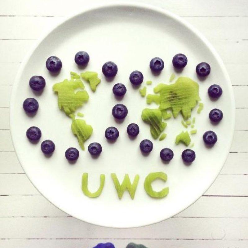 El mundo con uvas. Foto:instagram.com/idafrosk