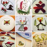 Diseños en el plato. Foto:instagram.com/idafrosk