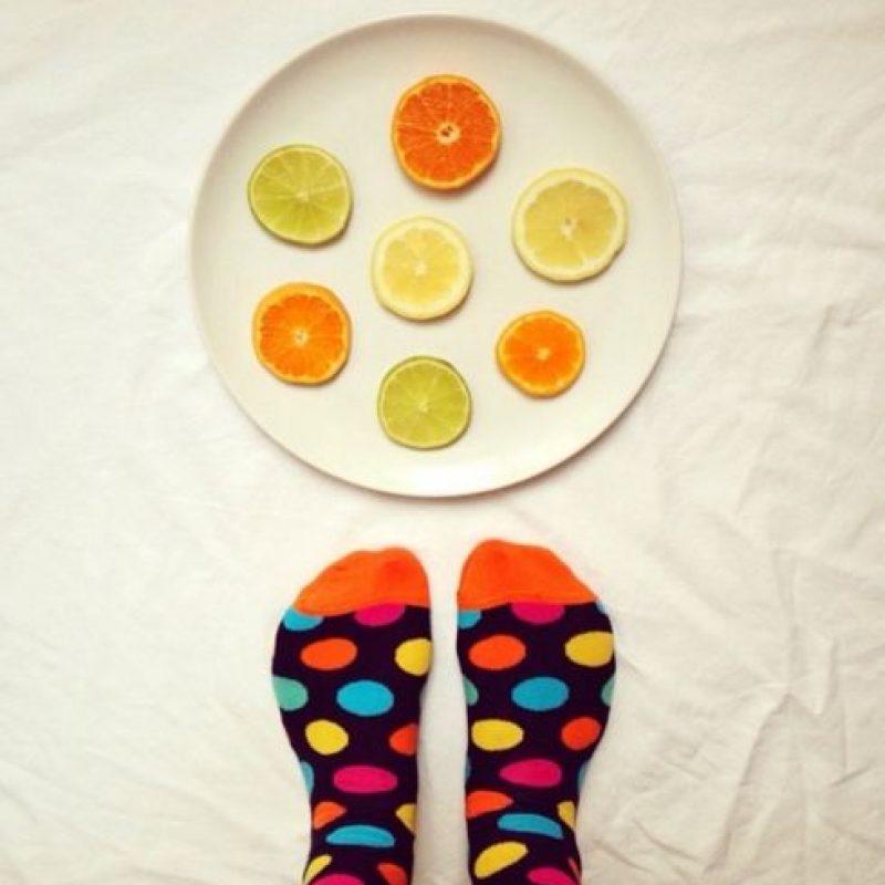 Frutas de colores. Foto:instagram.com/idafrosk