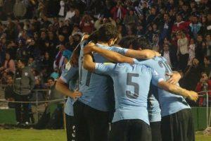Los goles fueron de Diego Godín, Diego Rolán y Abel Hernández. Foto:Vía twitter.com/uruguay