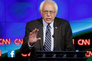Le siguieron Bernie Sanders y Martin O´Malley. Foto:AP