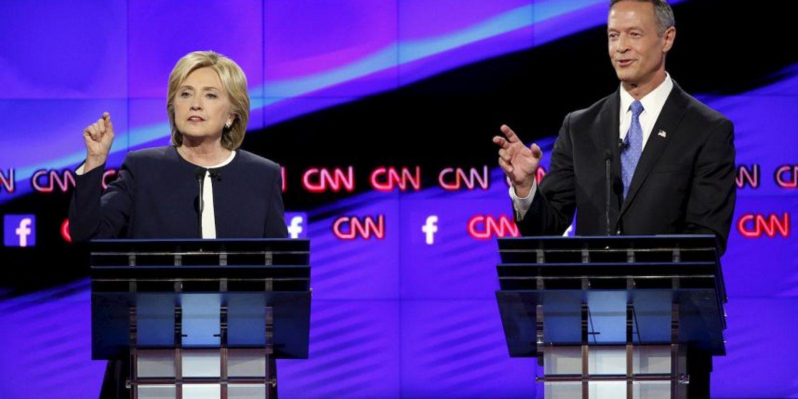 Hillary Clinton fue la ganadora indiscutible del debate. Foto:AP