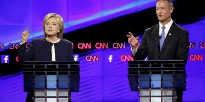 ¿Cómo le fue a Hillary Clinton en el primer debate demócrata?