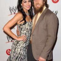 La Diva está casada con Bryan Danielson, también luchador de la WWE. Foto:Getty Images
