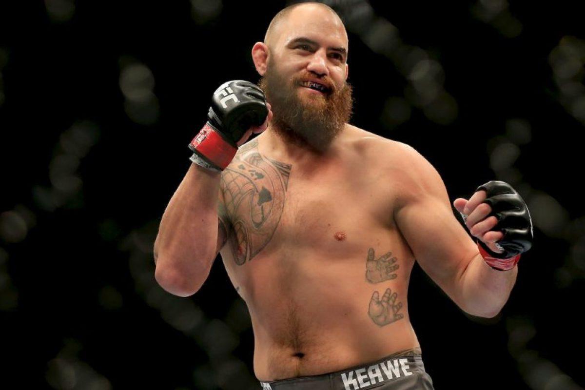 """Travis Browne, luchador de la UFC, le rompió el corazón a todos los fans de """"Rowdy"""" cuando anunció que ella y la luchadora """"están juntos"""". Foto:Getty Images"""