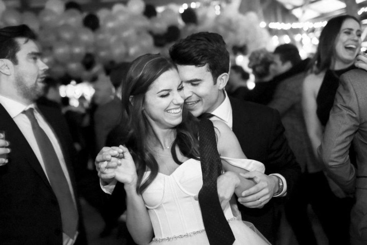 En 2014, la futbolista más bella del mundo se casó con Servando Carrasco, también jugador de fútbol. Foto:Getty Images