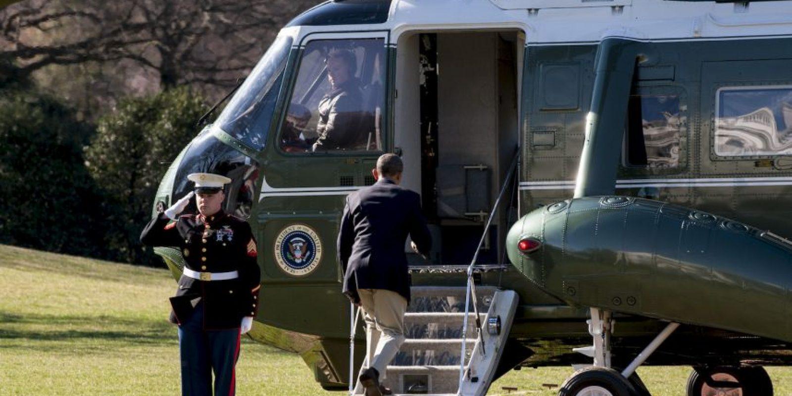El presidente Barack Obama pasó su domingo jugando golf en San Diego. Foto:Getty Images