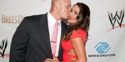 Desde 2012, es novia del ídolo de la WWE, John Cena. Aunque viven juntos desde 2013, la boda y los bebés aún están en planes. Foto:Getty Images