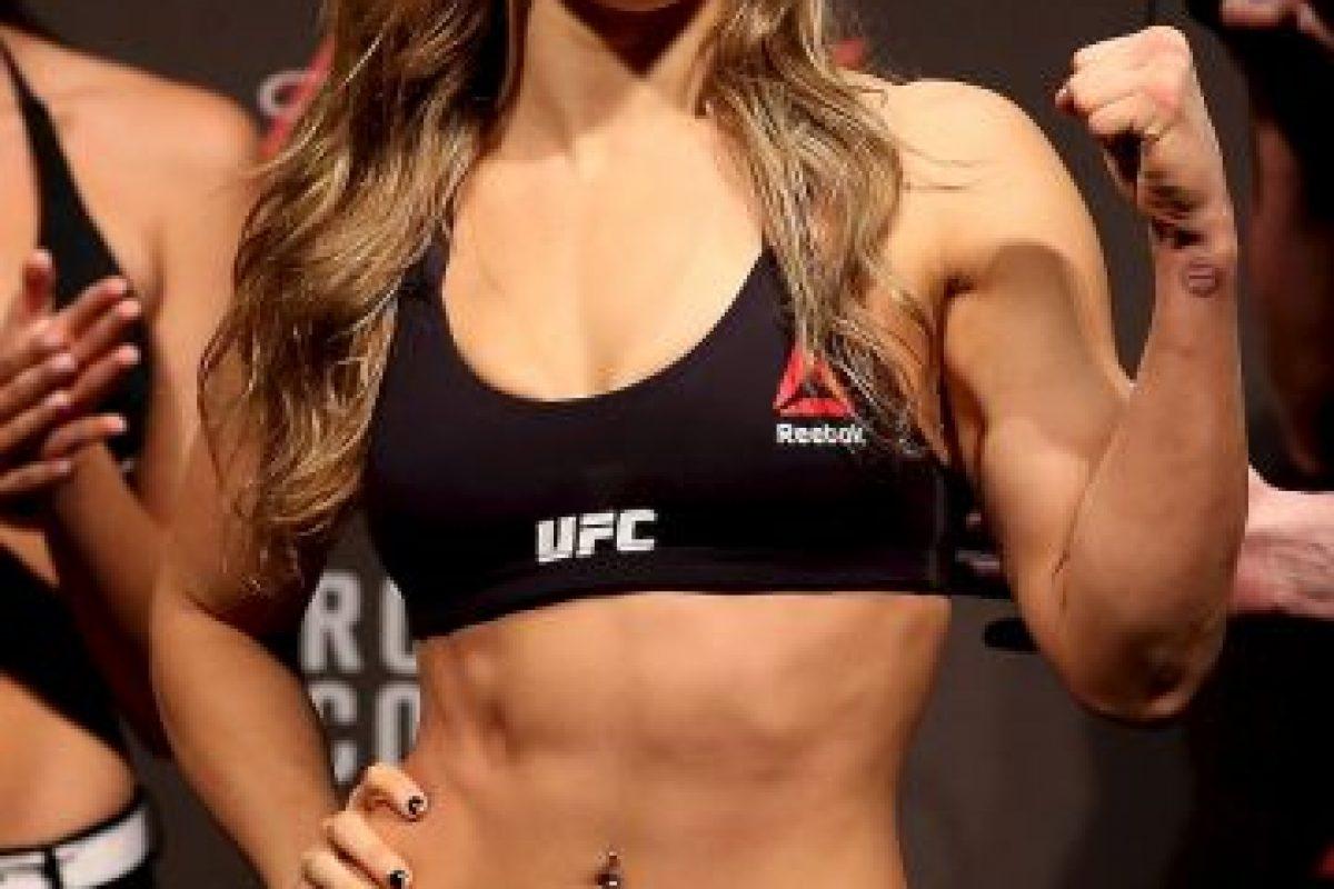 7. Ronda Rousey > Con novio Foto:Getty Images
