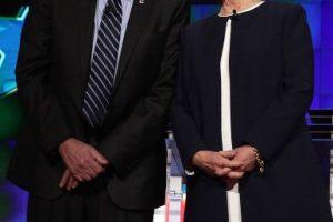 Los precandidatos mostraron unidad. Foto:Getty Images