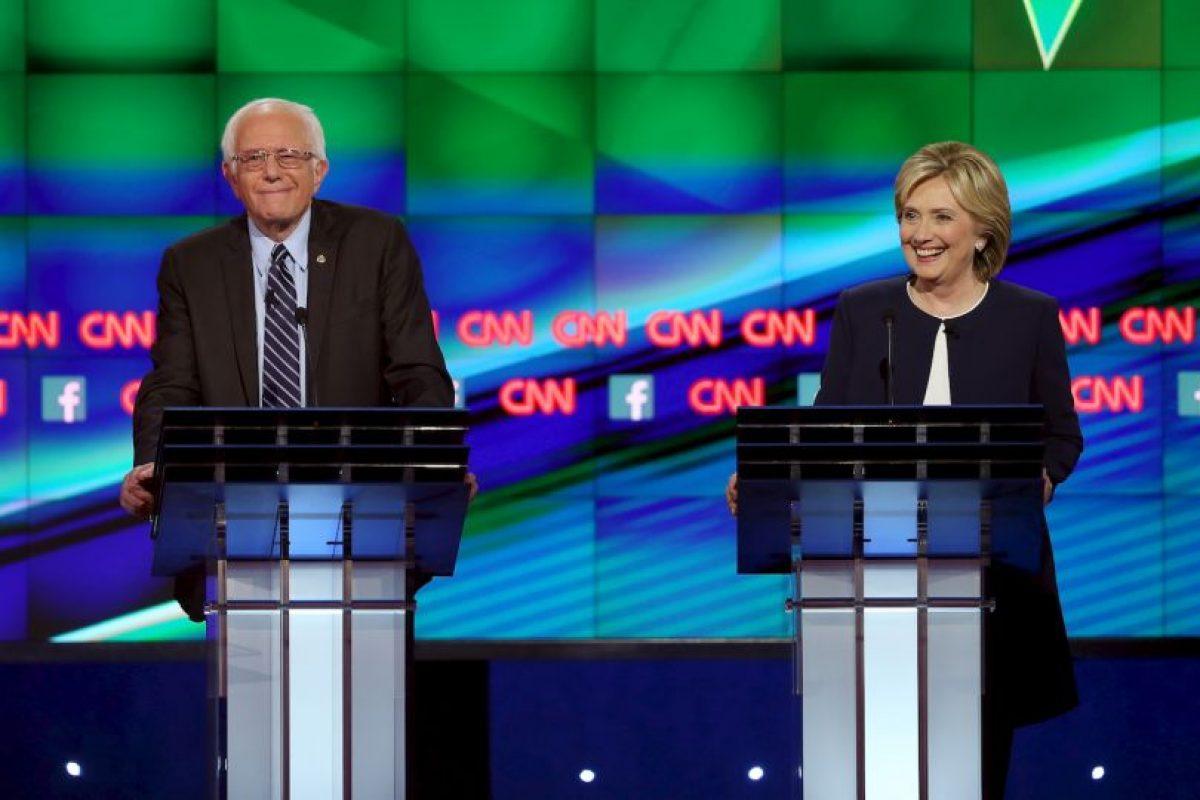 Aún está lejos de Hillary Clinton, quien tiene cuatro millones 400 mil Foto:Getty Images