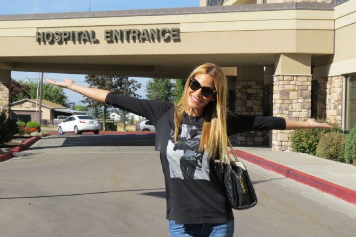 En una de las visitas al médico, se encontró un problema en las trompas de falopio de la modelo, lo cual le impedía convertirse en madre. Foto:Vía instagram.com/tamara_gorro