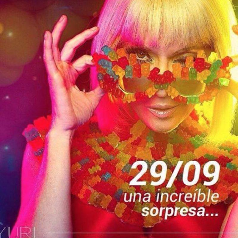 """Ositos de goma. Lady Gaga lo hizo con pedazos de Kermit, de """"Los Muppets"""". Foto:vía Facebook/Yuri"""