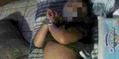 1. Violencia física Foto:Vía Facebook / Así mostró a su pequeño en redes
