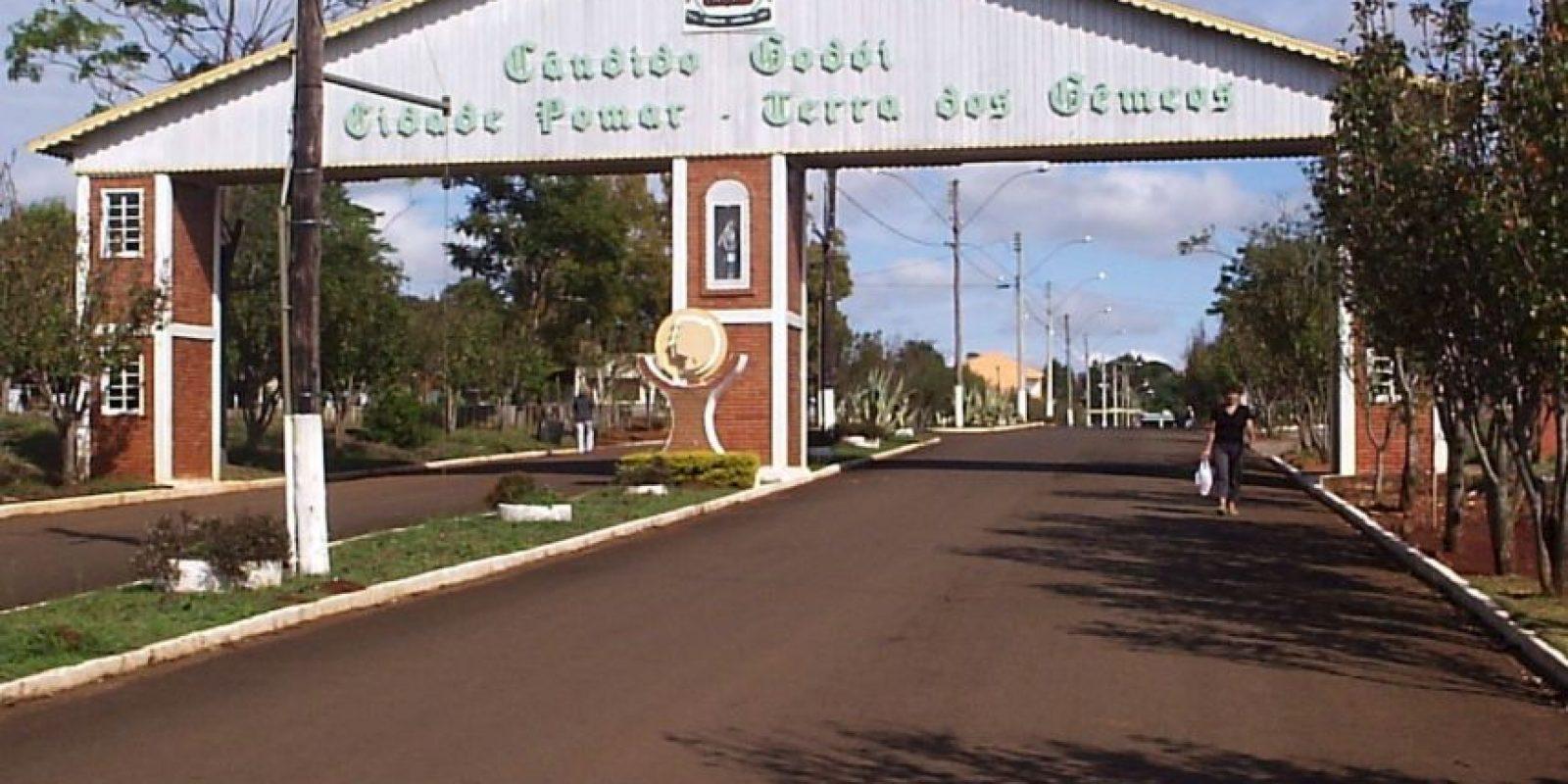 Cándido Godói es un pequeño poblado al sur de Brasil. Foto:Vía facebook.com/candidogodoirs