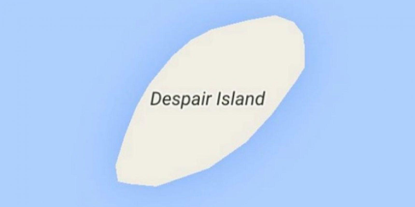 Despair Island (Narragansett Bay, Newport County, Rhode Island, Estados Unidos) Foto:Vía Instagram @sadtopographies