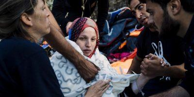 Lesbos ha sido una de las islas griegas más afectadas por la llegada de refugiados al territorio. Foto:AFP