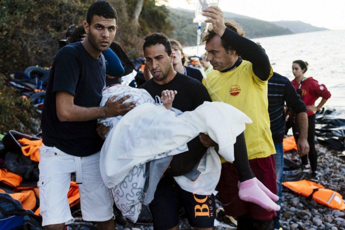 Cerca de 170 mil refugiados llegaron en septiembre solicitando asilo. Foto:AFP