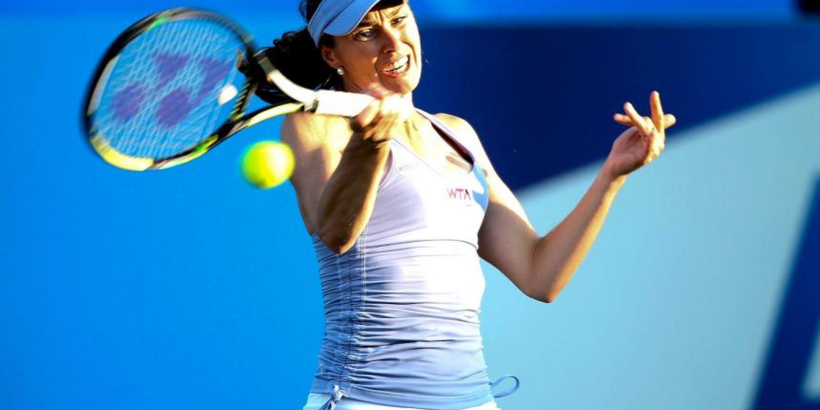 Martina Hingis: La tenista suiza confesó en 2007 que había dado positivo por cocaína y fue suspendida por dos años de las pistas. Foto:Getty