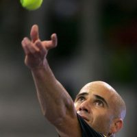 """Andre Agassi: En su libro autobiográfico """"Open: An Autobiography"""", el ex tenista confesó que en 1997 consumió la droga sintética metanfetamina, debido a la presión por una baja de su juego. Foto:Getty"""