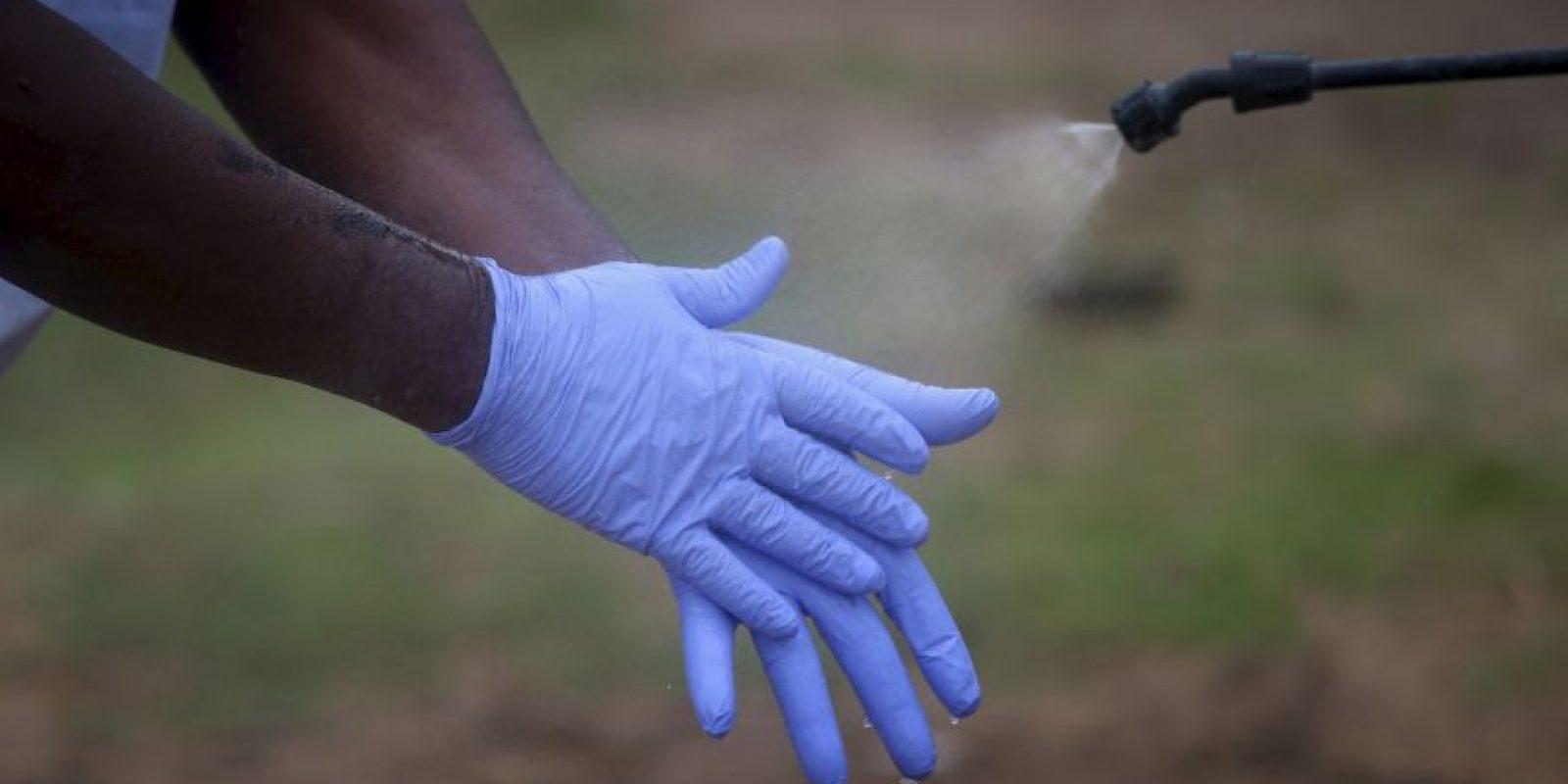 """El virus del Ébola se transmite a través del """"contacto estrecho con órganos, sangre, secreciones u otros líquidos corporales de animales infectados"""". Foto:Getty Images"""