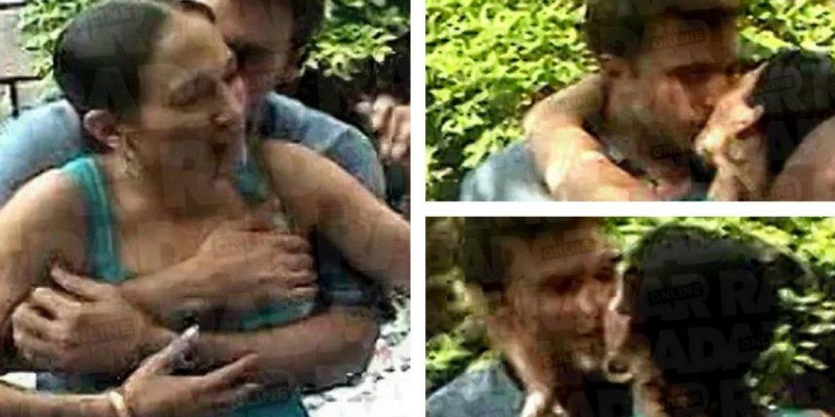 Filtran imágenes íntimas de Jennifer López y Ben Affleck