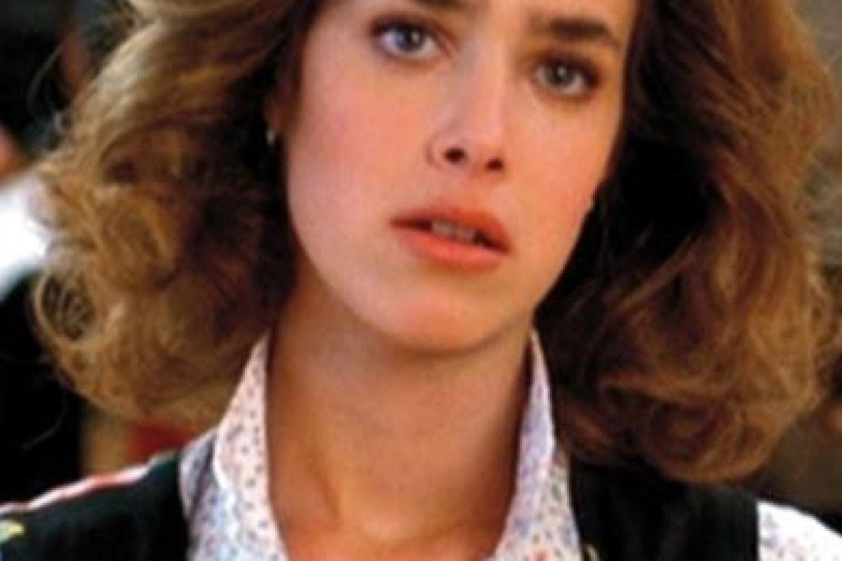 "La actriz interpretó a ""Jennifer"", la novia de ""Marty"" Foto:IMDB"