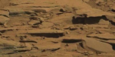 Se descubrió en agosto de 2014 Foto: original en http://mars.jpl.nasa.gov/msl-raw-images/msss/00601/mcam/0601MR0025370020400768E01_DXXX.jpg