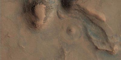 Esta es la imagen difundida por la agencia espacial Foto:Foto: Original: http://hirise-pds.lpl.arizona.edu/PDS/EXTRAS/RDR/ESP/ORB_028800_028899/ESP_028891_2085/ESP_028891_2085_RGB.NOMAP.browse.jpg