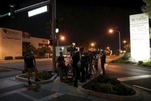 Una hora después de que lo encontraron, Lamar fue trasladado a un centro hospitalario de Pahrump Foto:Getty Images