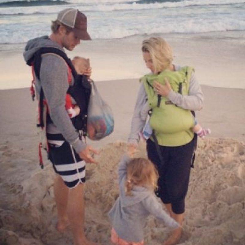 Y en 2014 recibieron a sus gemelos: Tristan y Sasha. Foto:vía instagram.com/elsapatakyconfidential