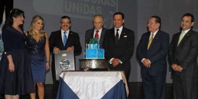 Junta directiva del Grupo Emisoras Unidas 2015, en la celebración de los 50 años. Foto:Emisoras Unidas