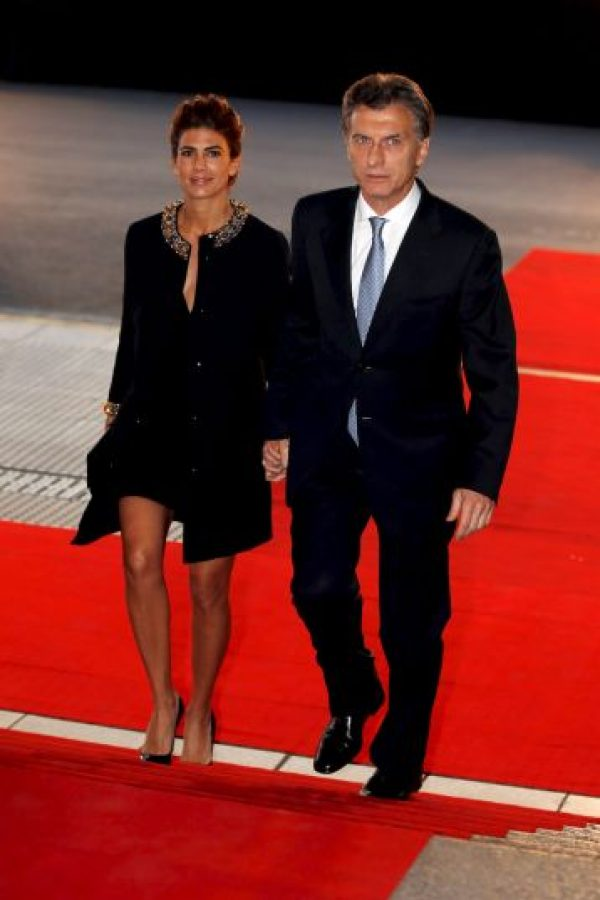 Es la tercera esposa de Mauricio Macri, quien a la vez es su segundo esposo Foto:Getty Images
