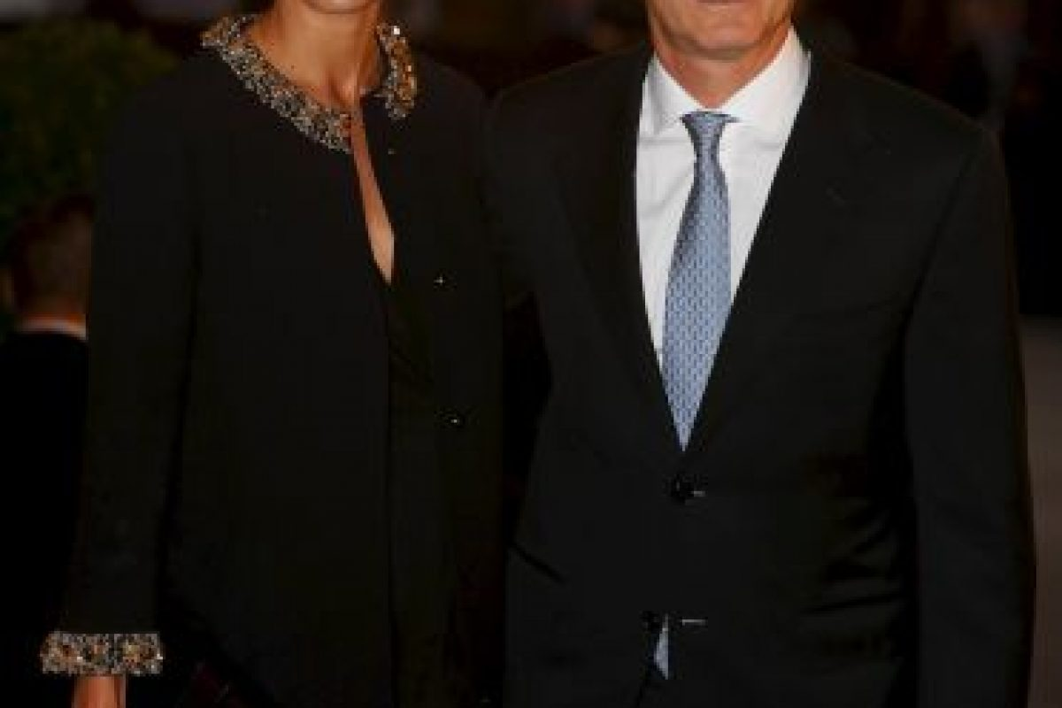 Ambos tienen una hija, Antonia, que nació en 2011 Foto:Getty Images
