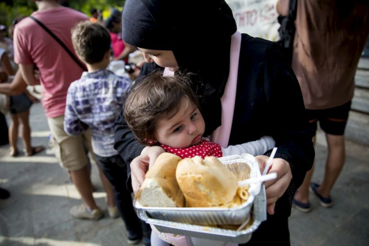 4. La mayoría de los refugiados proviene de Siria y de Afganistán. Foto:Getty Images