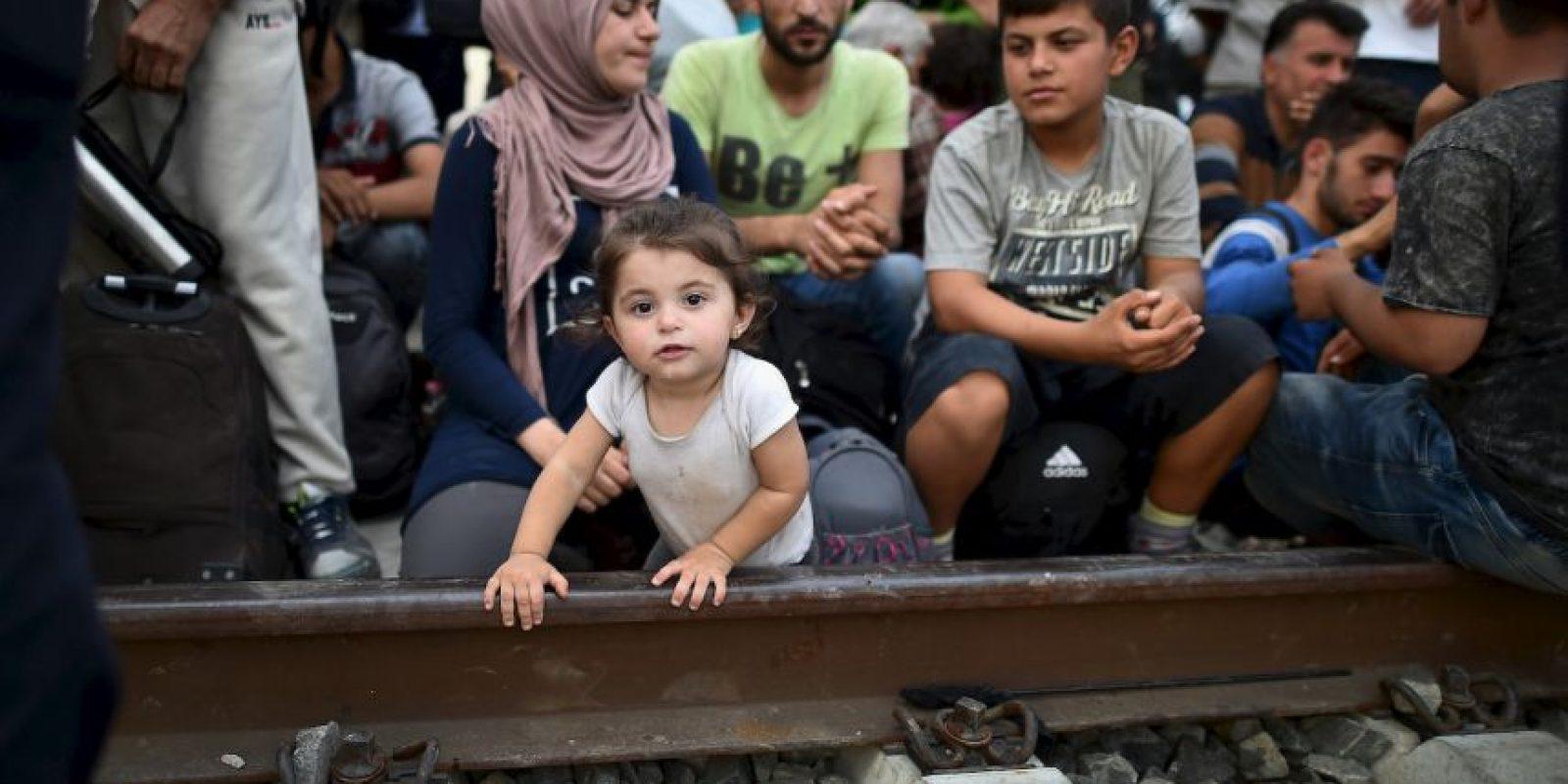 5. Muchos países impusieron controles fronterizos para detener el flujo de migrantes y refugiados. Hungría, Alemania, Austria y Eslovaquia. Foto:Getty Images