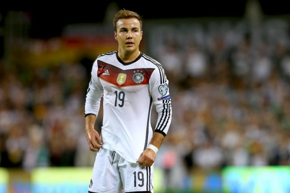 4. Mario Götze (Alemania) Foto: Getty Images
