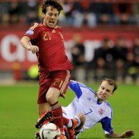 11. David Silva (España) Foto:Getty Images