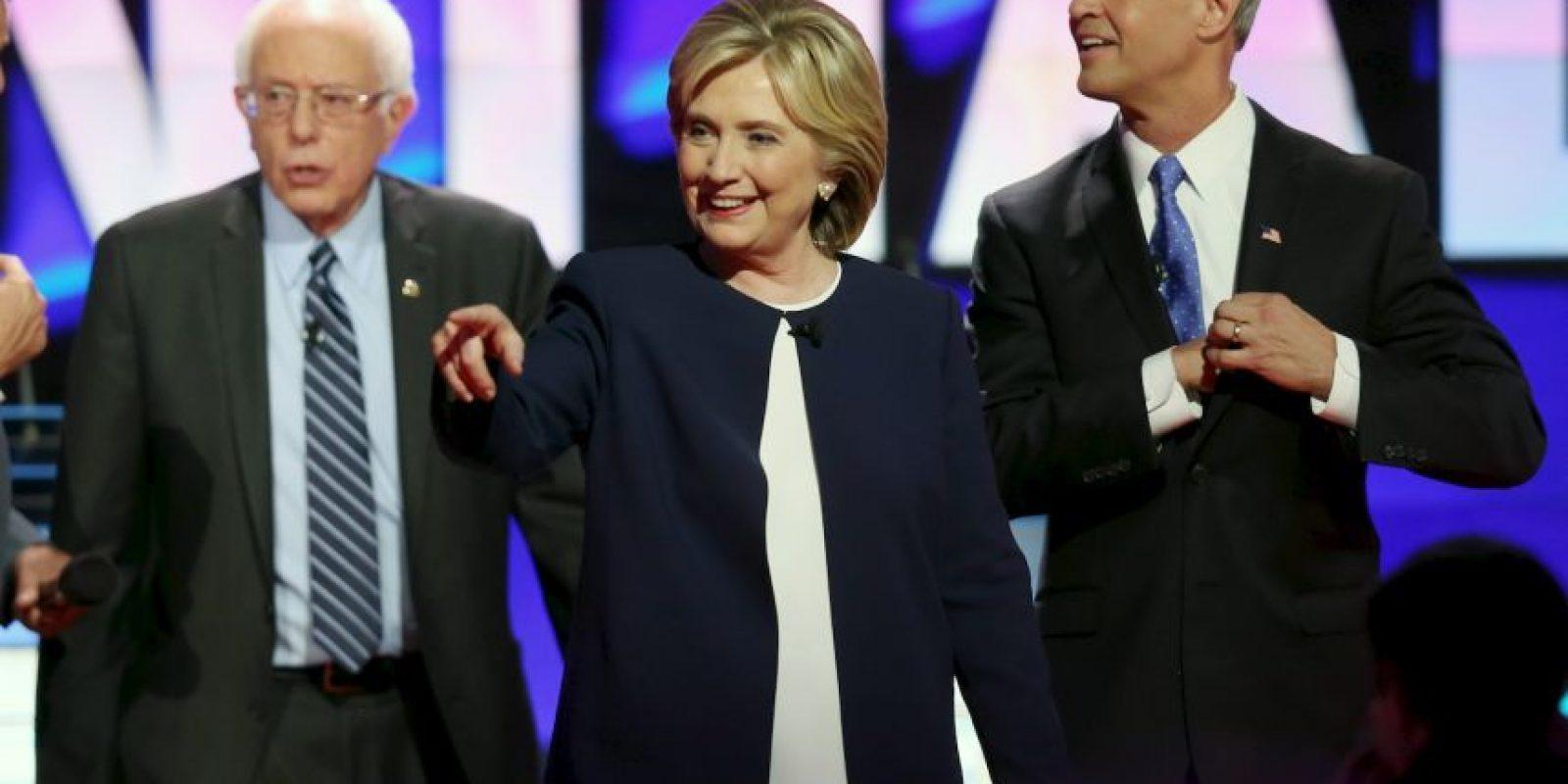 En el participaron los cinco precandidatos interesados para ocupar el cargo de Barack Obama en 2016. Foto:Getty Images