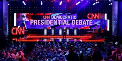 Este martes se llevo acabo el primer debate de los precandidatos del Partido Demócrata estadounidense Foto:Getty Images