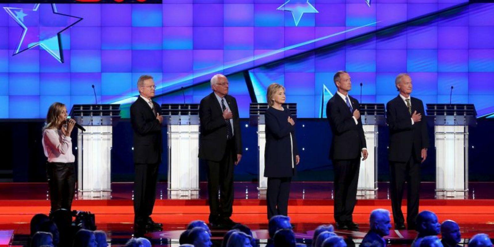 """El debate fue transmitido y estuvo a cargo de la cadena """"CNN"""". Foto:Getty Images"""