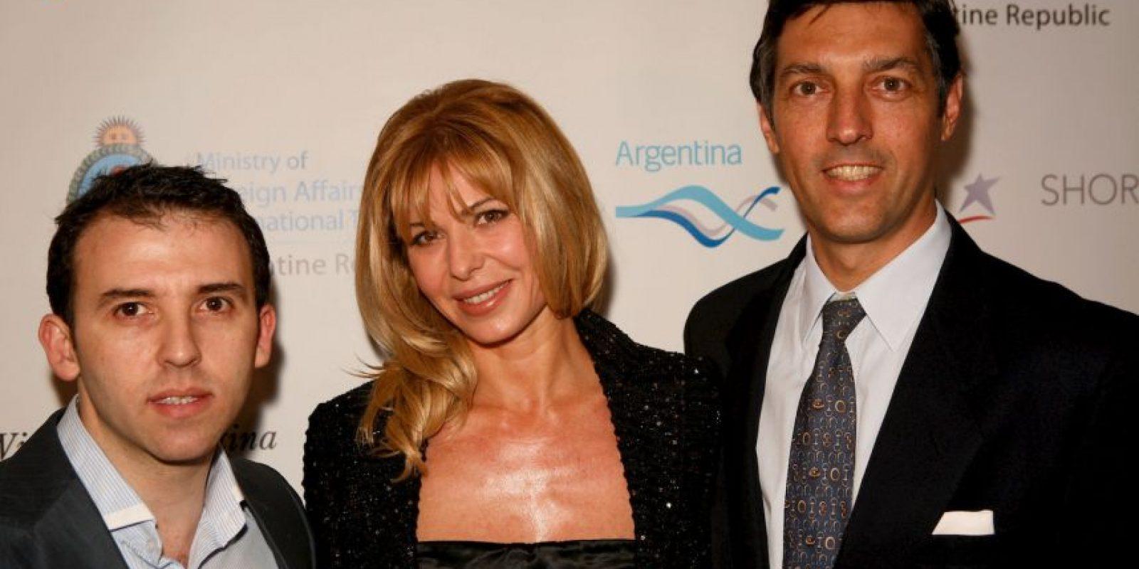 Ya se había divorciado de Scioli, pero volvieron a estar juntos Foto:Getty Images