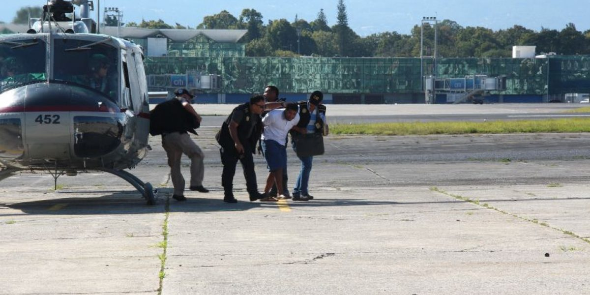 Fotos. Narcotraficante detenido en San Marcos es trasladado a la ciudad
