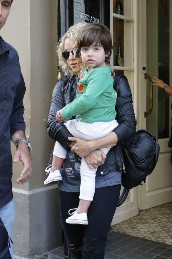 Las mejores imágenes de Shakira y sus hijos Foto:Grosby Group