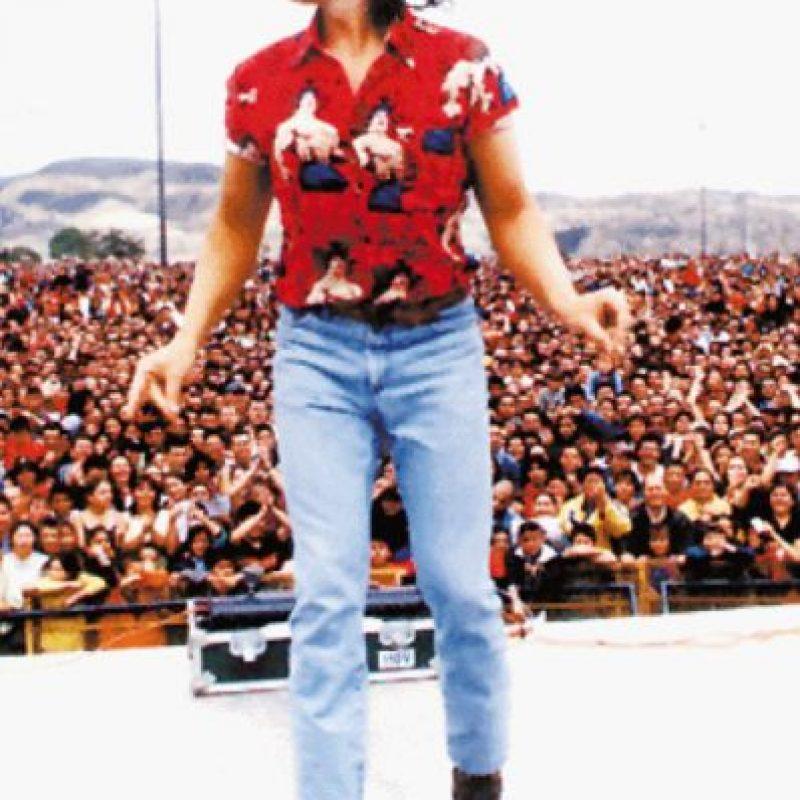 """O de su baile, """"El Pirulino"""". Foto:vía Caracol Televisión"""