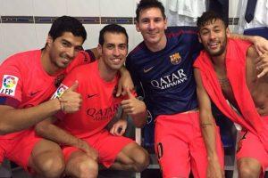 """Neymar hizo """"click"""" con Messi desde el primer año de su estancia en Barcelona. El brasileño entendió que el equipo juega para Messi y no intentó robarle el protagonismo al argentino, pese a que por su contrato y sueldo podría hacerlo. Foto:Vía instagram.com/luissuarez9"""