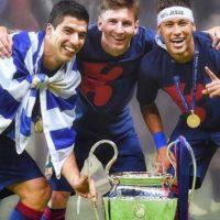 La gran coordinación entre los atacantes sudamericanos llevó al Barça a ganar el triplete europeo, pues con 122 goles marcados en la temporada contribuyeron en gran manera a lograr la hazaña. Foto:Vía instagram.com/neymarjr