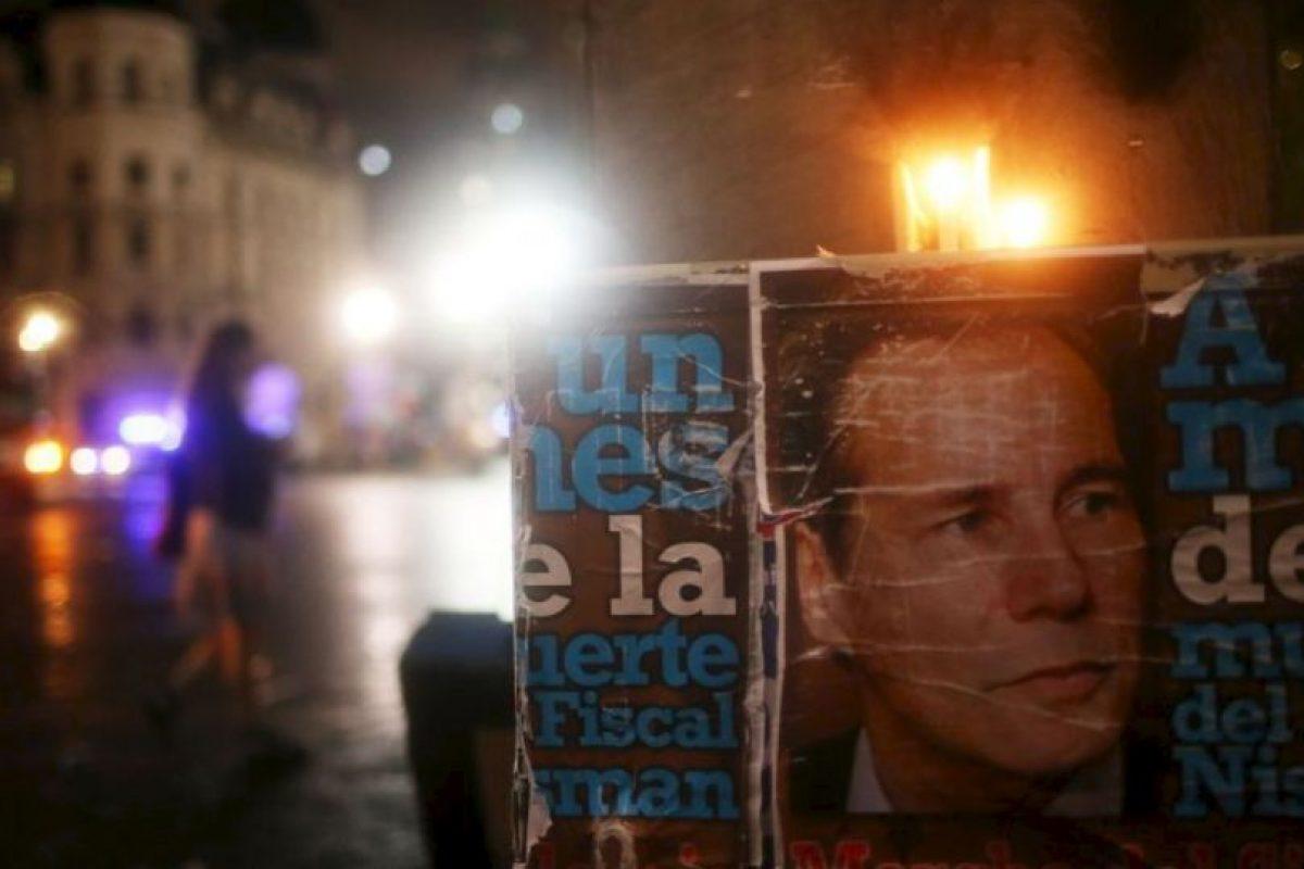 Horas antes de comparecer ante el Congreso para detallar las acusaciones, el cuerpo de Nisman fue hallado sin vida. Foto:Getty Images