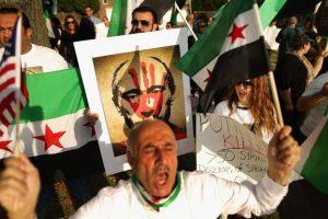 También hubo protestas en Washington DC, la capital estadounidense Foto:AFP